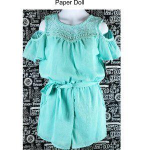 Paper Doll Romper Sz 14 NWT